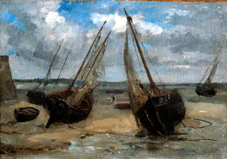 Barques échouées M0703810