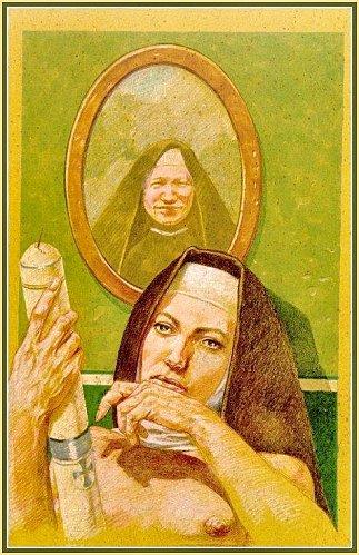 Nonnes et nonnettes fantasmées Nun1710