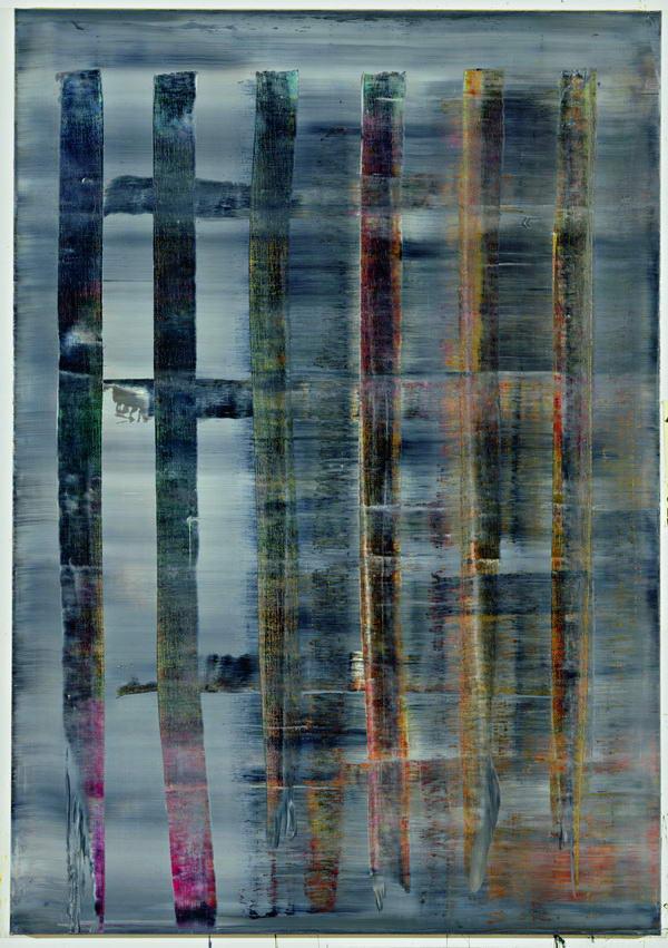 Rétrospective Gerhard Richter à Beaubourg Peintu11