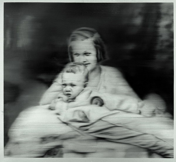 Rétrospective Gerhard Richter à Beaubourg Tante_10