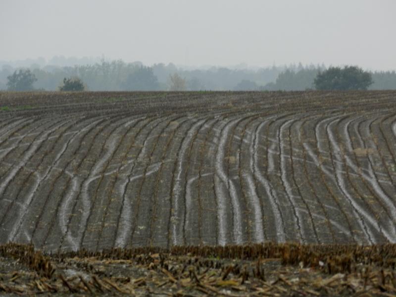 Octobre 2012, la pluie transforme le paysage  Vauvar41