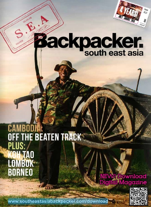 Revue South East Asia Backpackers, version numérique Screen11