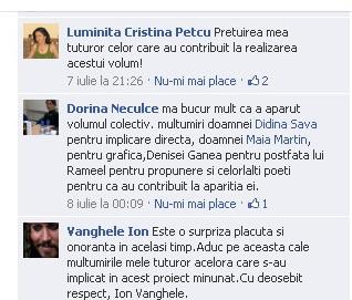 """Lansare de cărţi: """"La marginea tăcerii"""", de Dorina Neculce, """"Vade Mecum"""", Antologie versuri. Şase poeţi contemporani. """"Contraria"""",Rameel şi Dorina Neculce 310"""