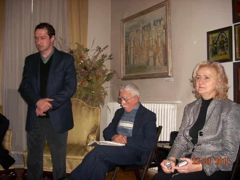 22 Ianuarie 2011-Sedinta a IX a A Cenaclului U.P.-Prin Iasi cu Veronica si Eminescu- Cenacl31
