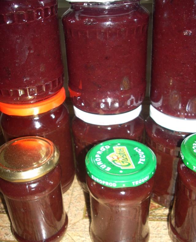 Dulceţuri tradiţionale, siropuri, gemuri, compot pt.iarna şi fructe confiate. Copy_o10