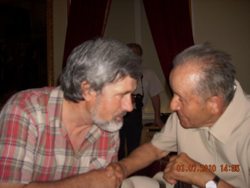 """Oameni si carti !-Societatea Culturala """"Plai Mioritic-Iasi-Chisinau-Cernauti""""-01 iulie 2010-""""Un om al cetaţii""""-Ion Ţăranu la 70 ani Dscn2916"""
