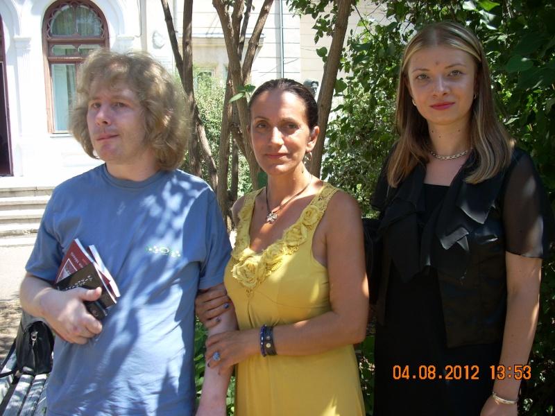 """Lansare de cărţi: """"La marginea tăcerii"""", de Dorina Neculce, """"Vade Mecum"""", Antologie versuri. Şase poeţi contemporani. """"Contraria"""",Rameel şi Dorina Neculce Lansar42"""