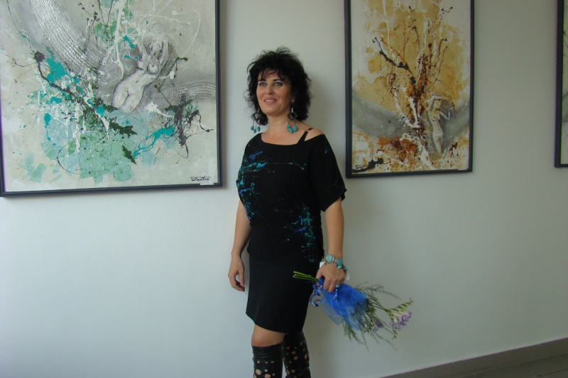 Vernisaj expozitie de pictura-Liliana Nastas Bratescu Vernis17
