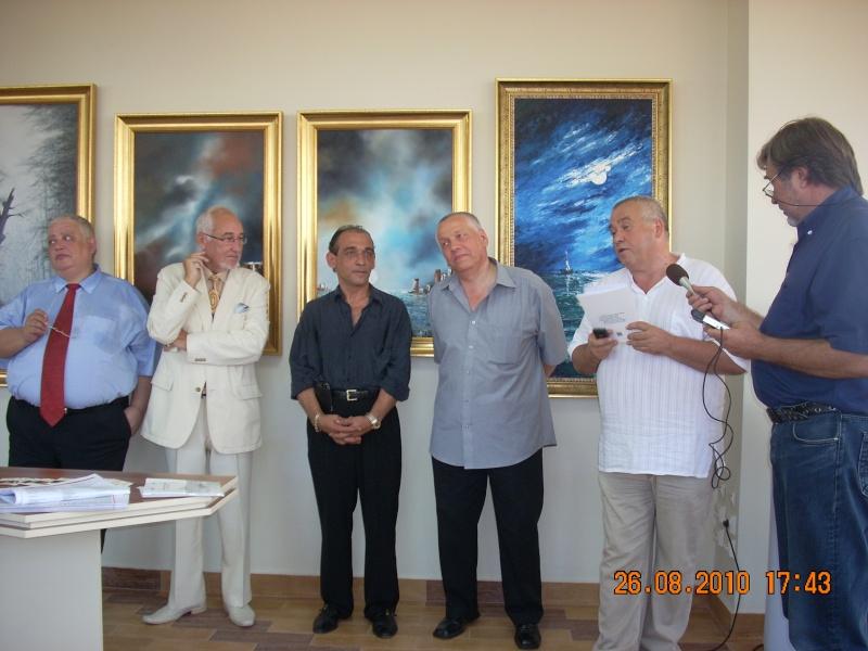 Vernisaj Dan Cumpata si lansare de carte Valeriu Stancu- 26 august 2010 Vernis43