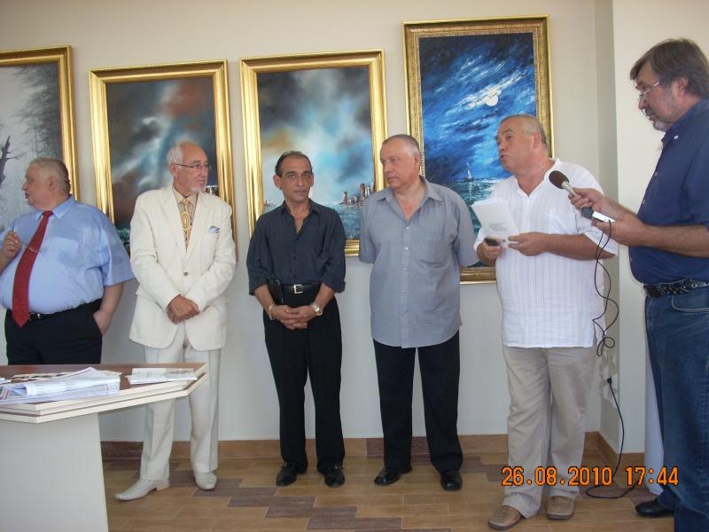 Vernisaj Dan Cumpata si lansare de carte Valeriu Stancu- 26 august 2010 Vernis44