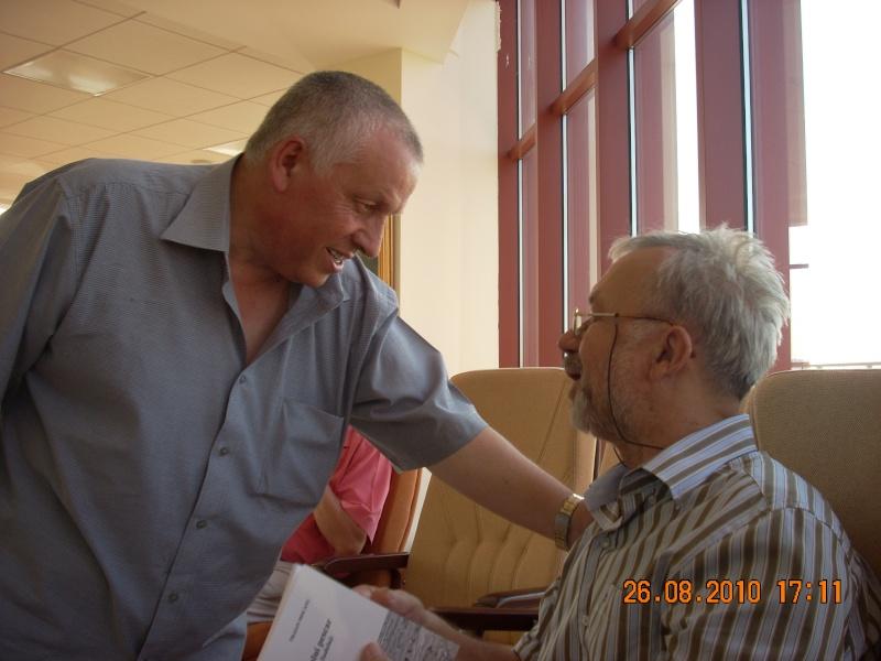 Vernisaj Dan Cumpata si lansare de carte Valeriu Stancu- 26 august 2010 Vernis49