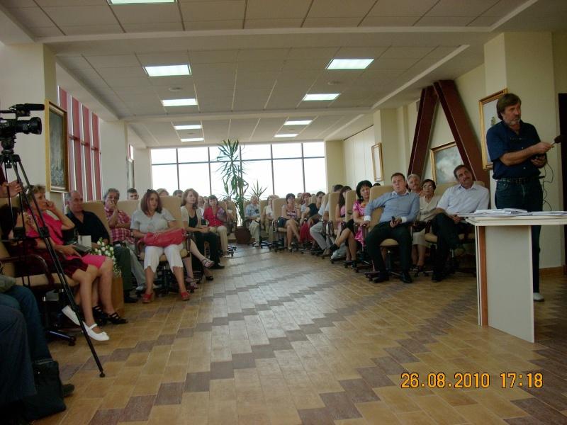 Vernisaj Dan Cumpata si lansare de carte Valeriu Stancu- 26 august 2010 Vernis50