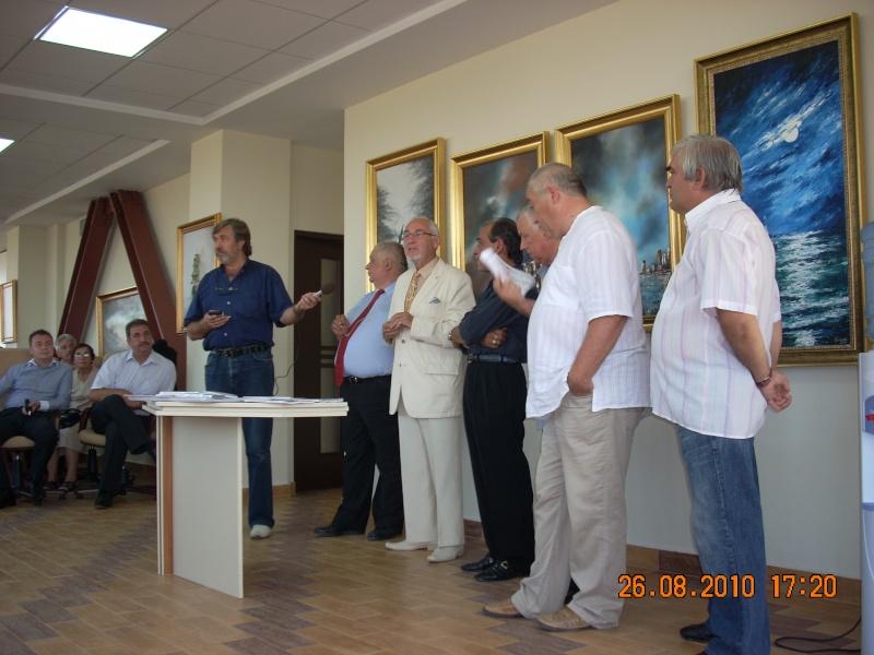 Vernisaj Dan Cumpata si lansare de carte Valeriu Stancu- 26 august 2010 Vernis51