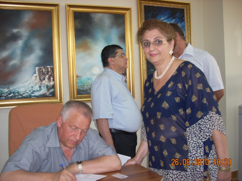 Vernisaj Dan Cumpata si lansare de carte Valeriu Stancu- 26 august 2010 Vernis58