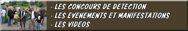 LES CONCOURS, ÉVÉNEMENTS, MANIFESTATIONS, LES VIDÉOS... FIBULIX DÉTECTION21 Fb01610