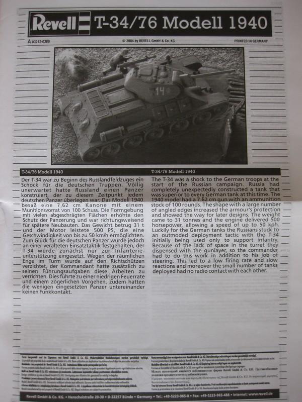 T-34/76 Model 1940 [ Revell/Matchbox; 1/76 ]:FINI ! Photo180