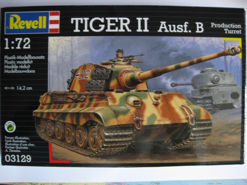 Tiger II Ausf. B Production Turret [Revell, 1/72 ]: FINI! (Ouf!) Photo226