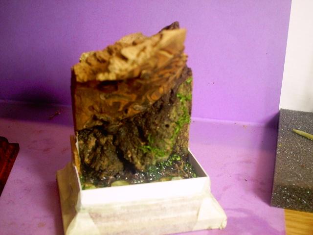huron sur socle décor Pict0052