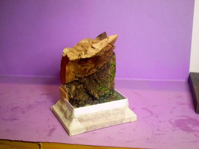 huron sur socle décor Pict0053