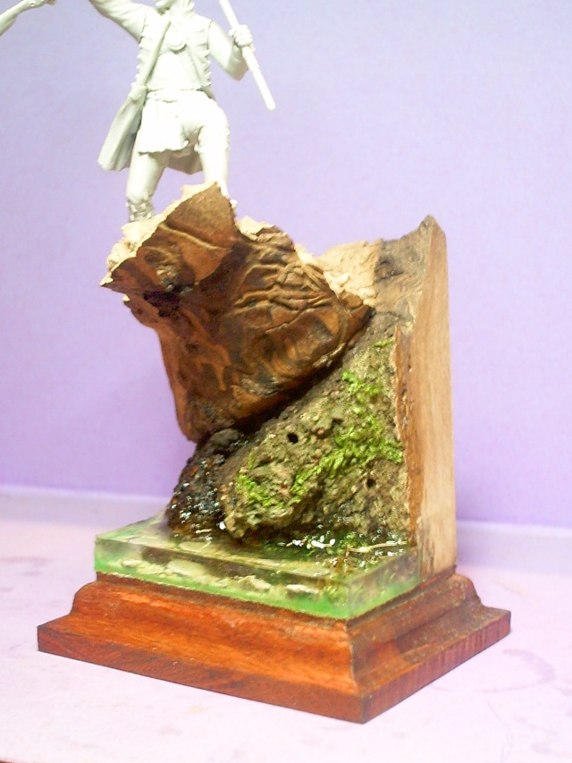 huron sur socle décor Pict0063
