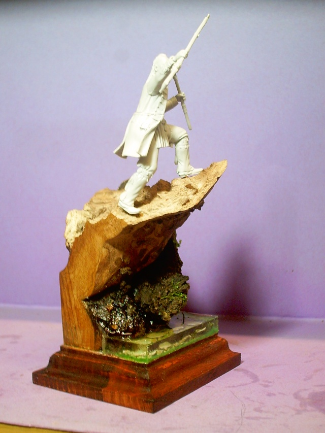 huron sur socle décor Pict0065