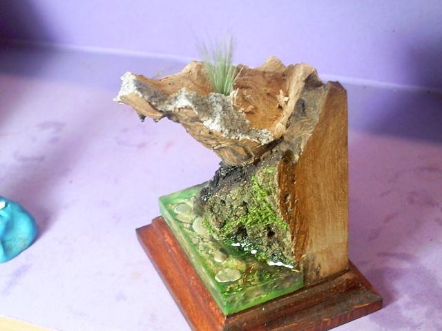 huron sur socle décor Pict0072