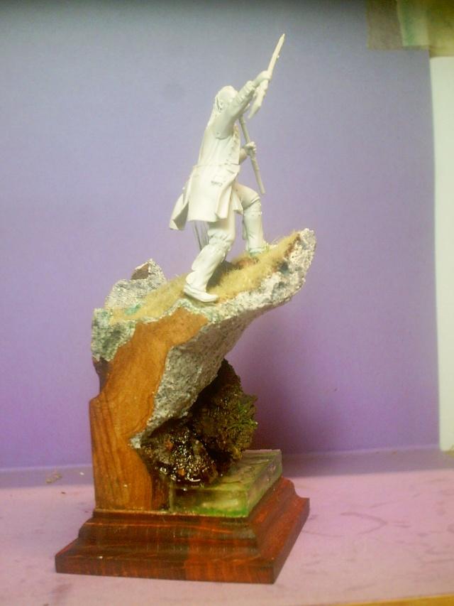 huron sur socle décor Pict0078