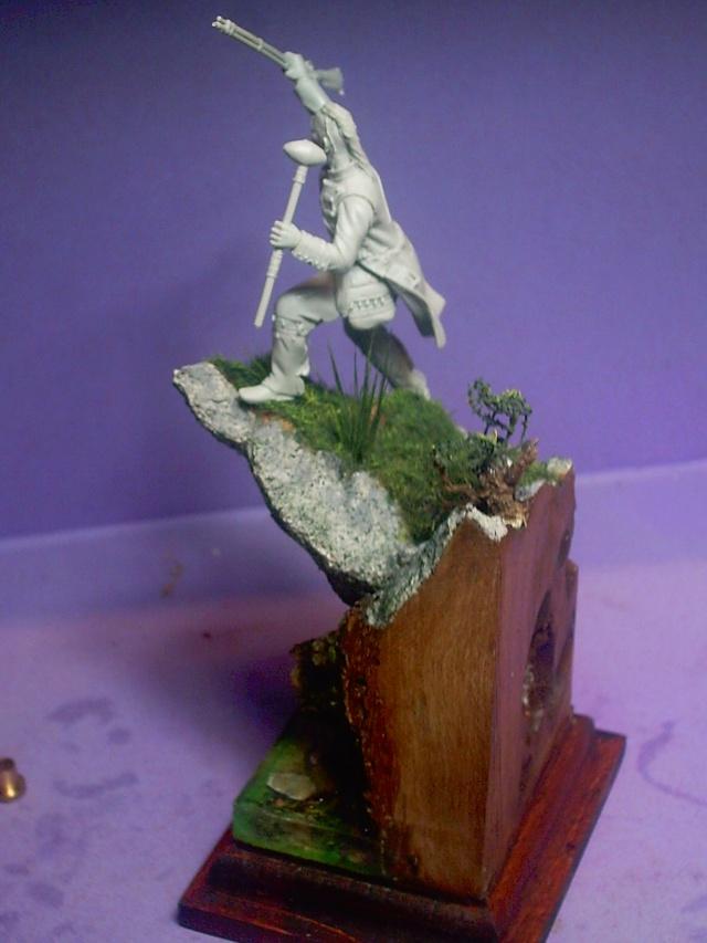 huron sur socle décor Pict0083