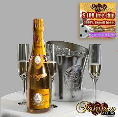 Pamper Casino $100 No Deposit Bonus + 2000% Slots Bonus, US Players Accepted Pamper11
