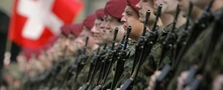 Suisse : L'armée prépare ses frontières au chaos européen 28512910
