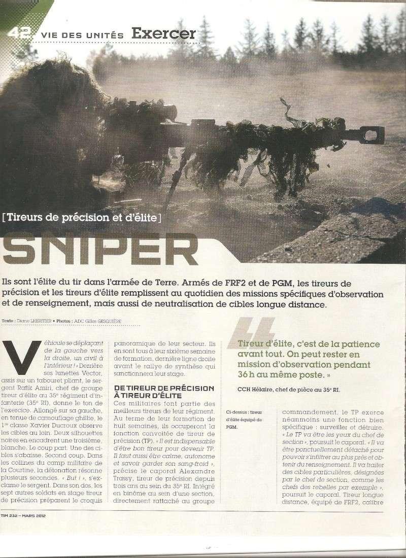 sniper FRF2 et PGM - article militaire francais Sniper11