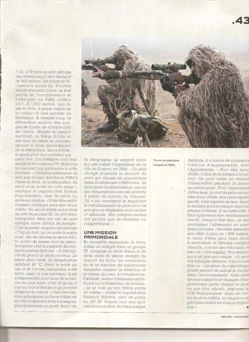 sniper FRF2 et PGM - article militaire francais Sniper12