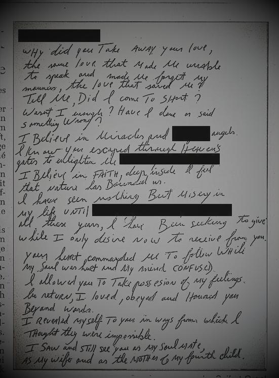 [RUMOR] Lettera d'amore di MJ ad una donna. Lovele10