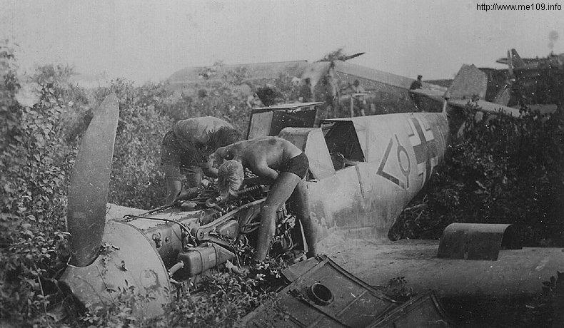 Bf109 F4 Trop. Bild2710