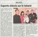 La famille CHEN en visite à Bages 2011_010