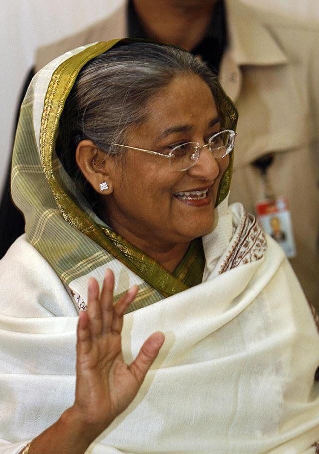 Sheikh Hasina Wajed - Bangladesh premier Bangp810