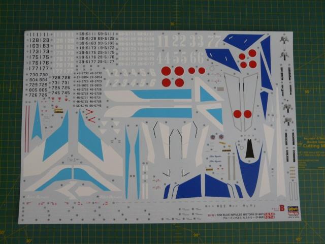 Blue Impulse 1-48 scale History  P1050020