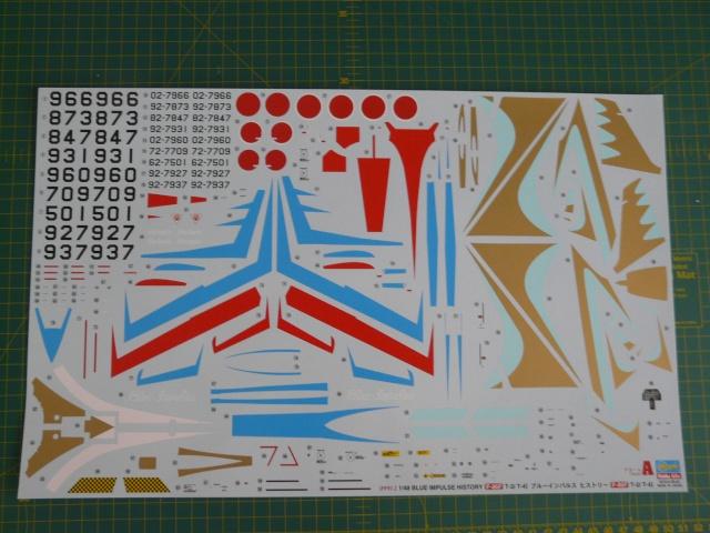 Blue Impulse 1-48 scale History  P1050021