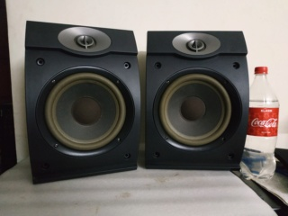 Bose 301 V standmount / wallmount speakers Img_2055