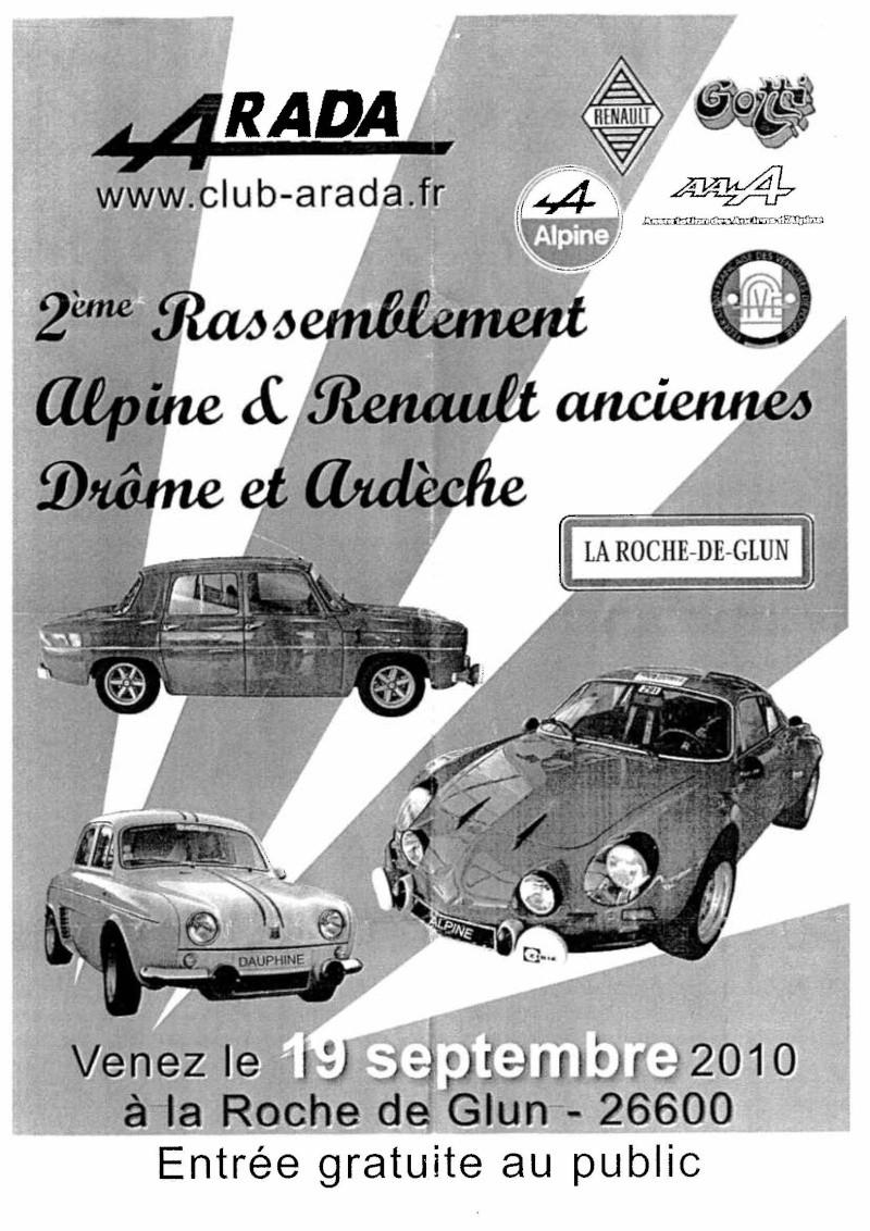 2ème rassemblement Alpines & Renault Anciennes Num00110