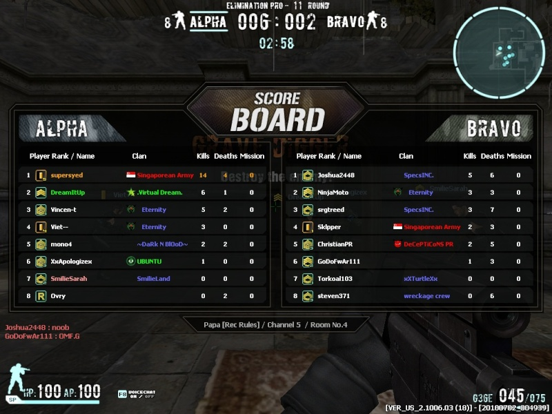supersyed ss Combat14