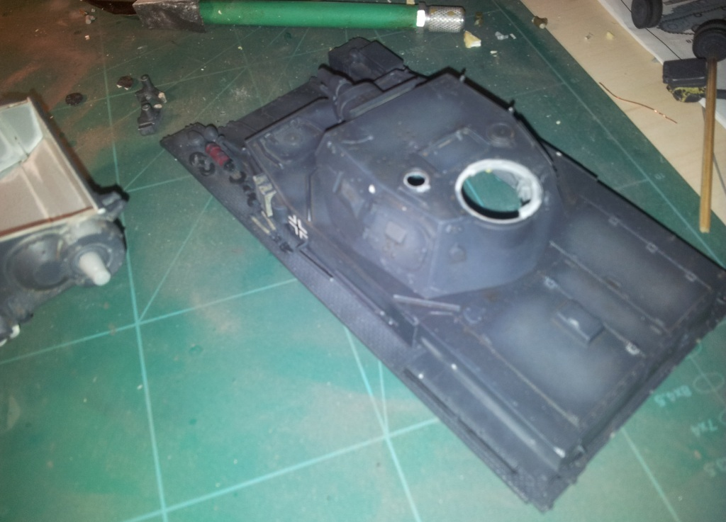 The recovery of  Dragon 1/35 Panzer IV Ausf D - Production version  Transp11