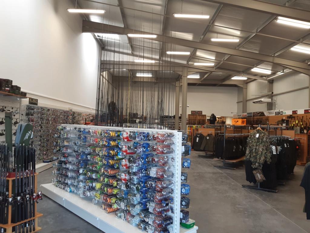 Nouveau  magasin chasse et pêche  20190713