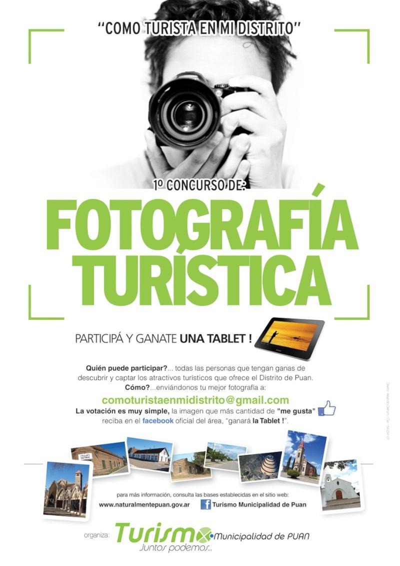 PUAN: CONCURSO DE FOTOGRAFIA TURISTICA. Afiche10