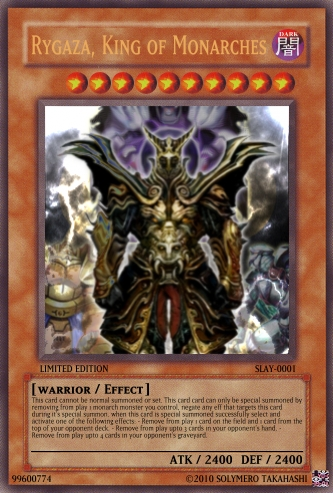Make your Own YugiOh card Create10
