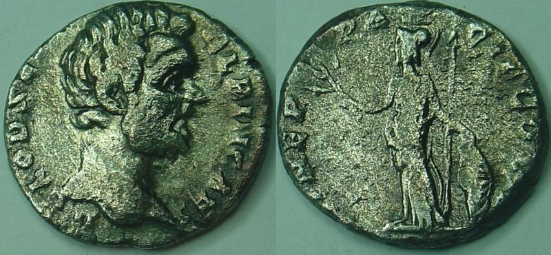 Denier de Clodius Albinus (195-196) Denier10