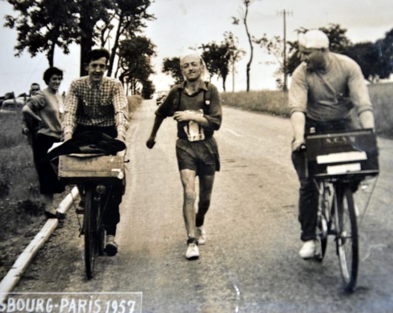 1957 SRASBOURG-PARIS Bou_3410