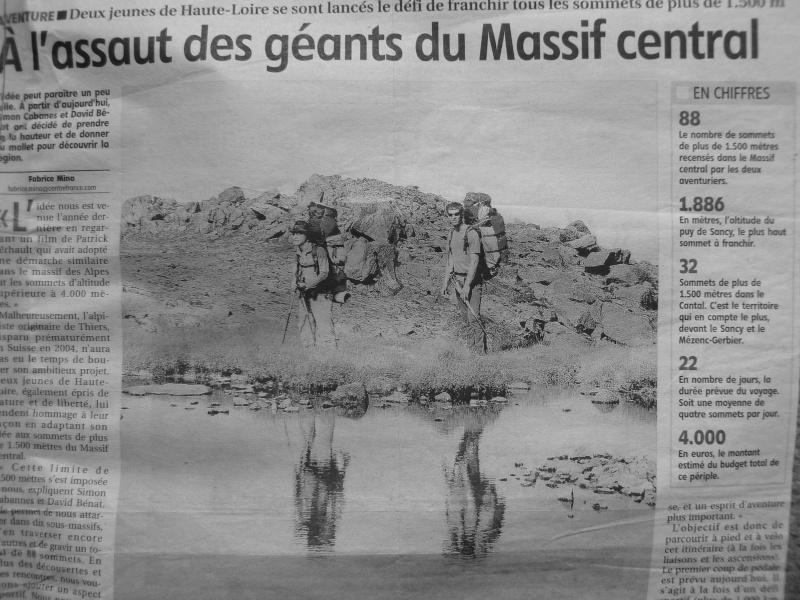 A L'ASSAUT DES GEANTS DU MASSIF CENTRAL du 9 au 31 août P1160910