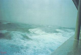 QE2 in rough seas 39766410