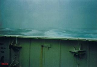 QE2 in rough seas 39900911